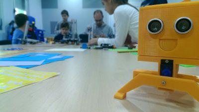 Bicho-Bot, otro robot educativo impreso en 3D